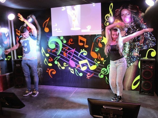 Game experience-zona disco hotel magic cristal park benidorm