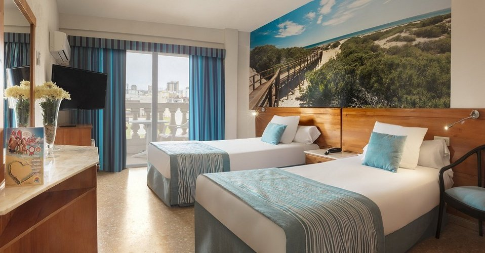 Habitación Doble Uso Individual (Monoparental) Hotel Magic Cristal Park Benidorm