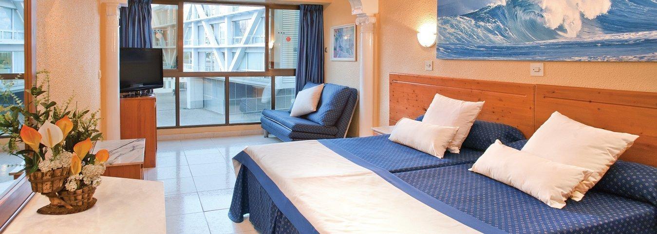 Habitación con vistas al Parque L'Aigüera - Hotel Magic Cristal Park